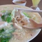 ワンタンミー(雲呑麺)とワッタンミー(滑蛋麺)