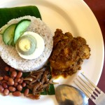 ガヤストリートの安くて美味しいナシレマ屋台「Pak Din」