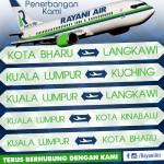 マレーシアの新航空会社「ラヤニ・エア」コタキナバル就航!