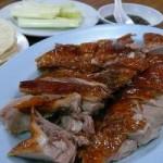北京ダックと餃子の名店、キンフーレストラン