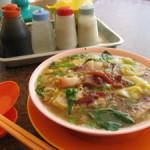 順泉茶室のミースープ