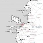 コタキナバル広域マップ