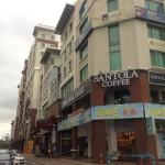 ボルネオコーヒー専門カフェ「SANTOLA COFFEE」ワリサンスクエア店