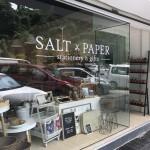 おしゃれ文房具&雑貨の店「ソルト×ペイパー」がガヤストリートに移転